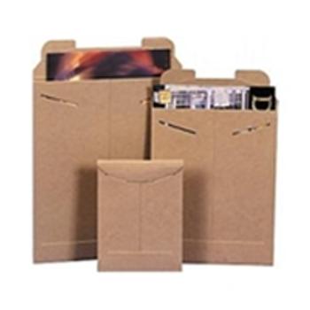 """ENVRM1SFK Stayflats® Original Kraft Tab-Lock Mailer 6 x 8"""" #1SFK Kraft T"""