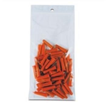 "PB6700 Hang Hole Reclosable Poly Bags, 2 MIL 2 x 3"" 2 Mil Hang Ho"