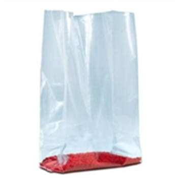 "PB1345 Gusseted Poly Bags - 1 Mil 4 x 2 x 8"" 1 Mil Gus"