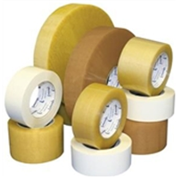 "TCST901500 Medium Duty Natural Rubber Tape 2"" x 55 yds. 1.9 Mil"