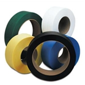"8"" x 8"" Core Hand Grade Poly Strapping SPSH240 1/2"" x 9000` .024 30"