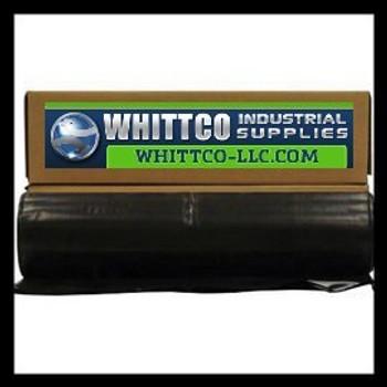 4.0 MIL BLACK 10X25 Plastic Sheeting 41025B