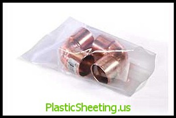 Layflat Poly Bags 3 mil  4X4X003 1000/CTN  #715  Item No./SKU