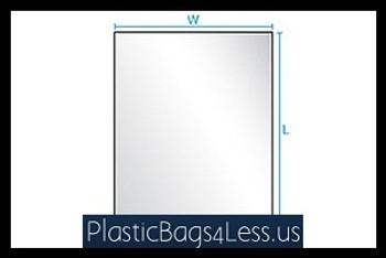 Layflat Poly Bags 1 mil  3X3X001 1000/CTN  #2200  Item No./SKU