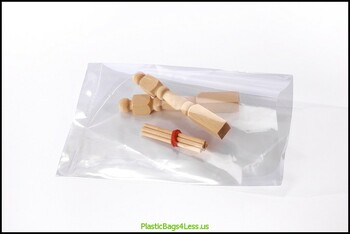 Clear Layflat Poly Bags 1.25 mil  5X10X00125 1000/CTN  #2770  ITEM NO / SKU
