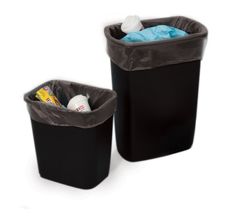 Black Poly Liners 4 mil  16X9X30X004 BLK 150/C  #3270  ITEM NO / SKU