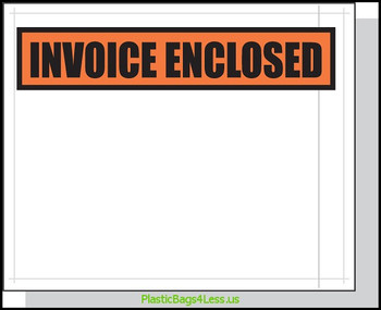 Packing List Envelopes  4.5X5.5 1000/Case Printed  #3865  Item No./SKU