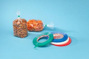 """3/8"""" PVC Bag Sealing Tape Red Tape PVC Red 3/8"""" 12 RL/C  #4720  Item No./SKU"""