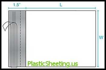 Poly Mailers - Perforated, 2.5 Mil P-Mailer 7.5X10.5X0025 1000/Case  #5102  Item No./SKU