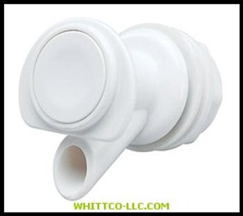 24009  IGLOO  SPIGOT WHITE PLASTIC  385-24009