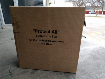 "24"" x 175' 3⁄16"" Bubble Wrap Rolls Dispenser Box 1013-S"