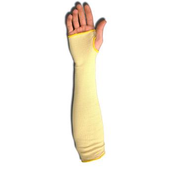 3084T POWER-COR™ SLEEVE  ARAMID/GLASS FIBER BLEND  SINGLE-PLY  14-INCH  THUMB SLOT  ANSI CUT LEVEL 4 Cordova Safety Products