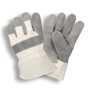 1030S SIDE SPLIT LEATHER  WHITE CANVAS BACK  RUBBERIZED SAFETY CUFF  KEVLAR® SEWN Cordova Safety Products