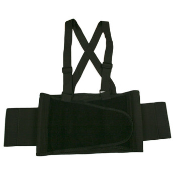 SB-M BACK SUPPORT BELT WITH ATTACHED SUSPENDERS  QUICK ADJUST ELASTIC OUTER PANELS  Cordova Safety Products