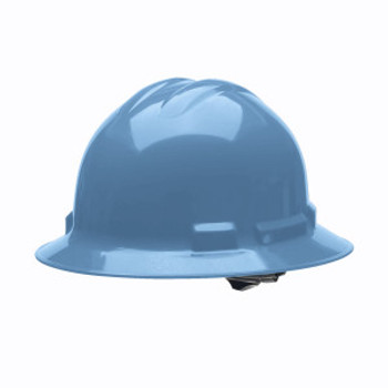 H34R5 DUO™ BLUE FULL-BRIM STYLE HELMET  4-POINT RATCHET SUSPENSION Cordova Safety Products