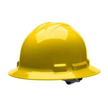 H36S2 DUO™ YELLOW FULL-BRIM STYLE HELMET  6-POINT PINLOCK SUSPENSION Cordova Safety Products