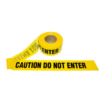 T15102 1.5 MIL YELLOW CAUTION DO NOT ENTER Cordova Safety Products
