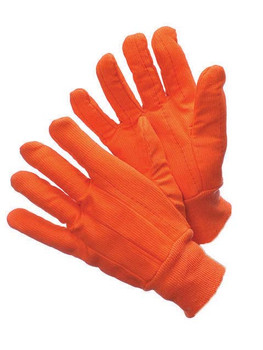 60-9920-O - NEON ORANGE HOTMILL  COTTON HOT-MILL