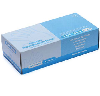43-10WN ( TUFF GRIP )  - DISPOSABLE INDUSTRIAL NITRILE GLOVES  DISPOSABLE GLOVES - NITRILE