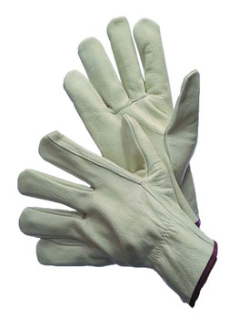 32-1371  - COWGRAIN DRIVER GLOVES WITH STRAIGHT THUMB  LEATHER DRIVER