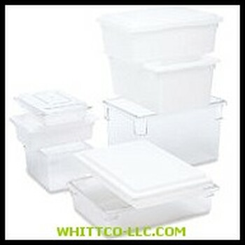"12-1/2 U.S. GAL. ""DUR-X""WHITE FOOD/TOTE B 3WHT 640-3500-WHT WHITCO Industiral Supplies"