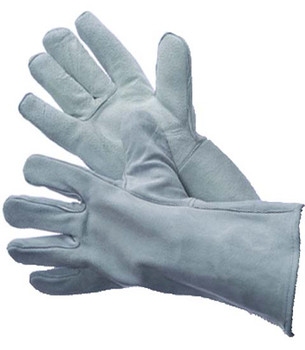 31-4015  - GREY LEATHER WELDING  LEATHER WELDING