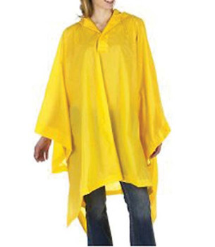 10-480P-Y - PONCHO PVC YELLOW RAINWEAR