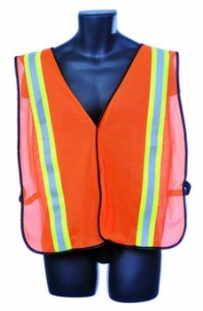 98-1200-O  - ORANGE MESH  SAFETY VEST