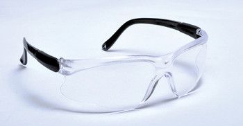 99-T8000-C - CLEAR LENS SAFETY GLASSES - WISDOM
