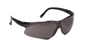 99-T8000-G - GREY LENS SAFETY GLASSES - WISDOM