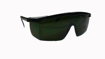 99-T8100-IR5  - INFRARED ( GREEN IR5 LENS )  SAFETY GLASSES -HURRICANE