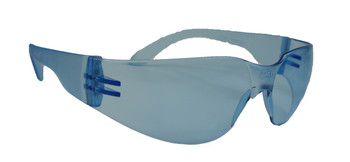 99-T8200-BU  - BLUE LENS  SAFETY GLASSES -STORM
