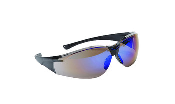 99-T8500-BM  - BLUE MIRROR LENS SAFETY GLASSES -VIPOR