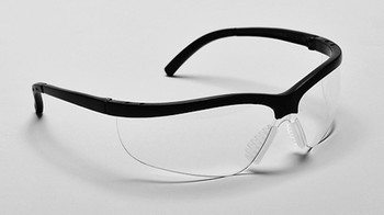 99-T8700-C  - CLEAR LENS  SAFETY GLASSES -RAZOR