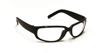 99-T9300BK-C - CLEAR LENS SAFETY GLASSES -LEGEND