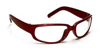 99-T9300R-C  - CLEAR LENS SAFETY GLASSES -LEGEND