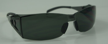 99-T9100-G - GREY LENS  SAFETY GLASSES -BLADE