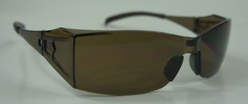 99-T9100-M - MOCHA LENS  SAFETY GLASSES -BLADE