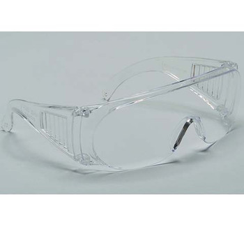 99-V8000-C - CLEAR LENS  SAFETY GLASSES - VISITOR SPECS