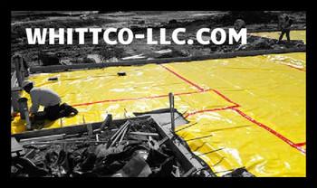 "Vapor Barrier Sealing Tape Red 6""x150' 30 mil   Husky Yellow Guard Crete Lock"