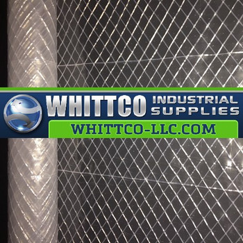 6 mil Reinforced Clear R5CC Power Scrim 2 Plastic Sheeting R5CC