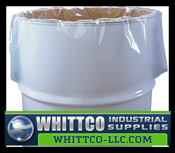 Drum Liners 3 mil Clear 50 Count L38583C
