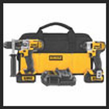 DCK290L2  DEWALT  20V MAX LI-ION HAMMERDRILL & IMPACT COMBO KIT  115-DCK290L2