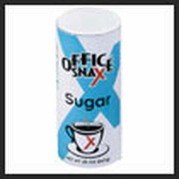 00019  OFFICE SNAX  FOOD SERVICE  SUGAR CANISTER 20OZ  707-00019