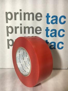 Stucco Tape Polyethylene Tape PrimeTac EZ Tear Red 950