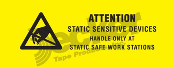 DL9191 Anti-Static Labels
