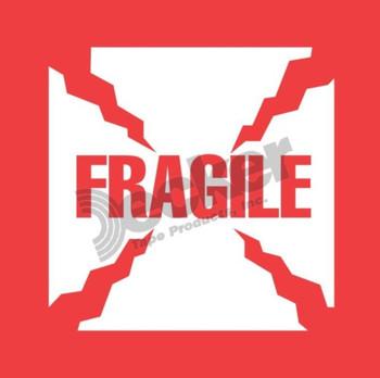 DL8411 Fragile Labels