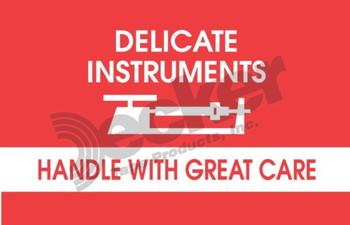 DL1340 Delicate Instruments Labels
