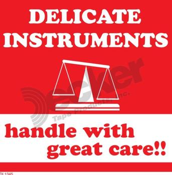 DL1341 Delicate Instruments Labels