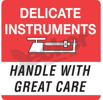 DL1347 Delicate Instruments Labels